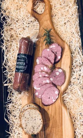 Колбаса свино-говяжья